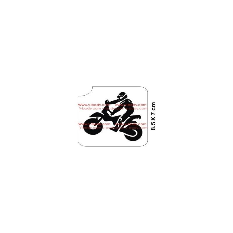 77601 Motorradfahrer