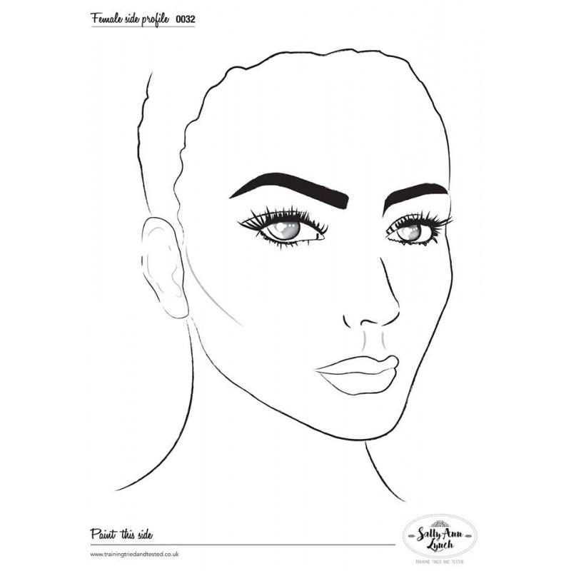 Plastifiziert Uebungsblatt A4 - Eye design recht