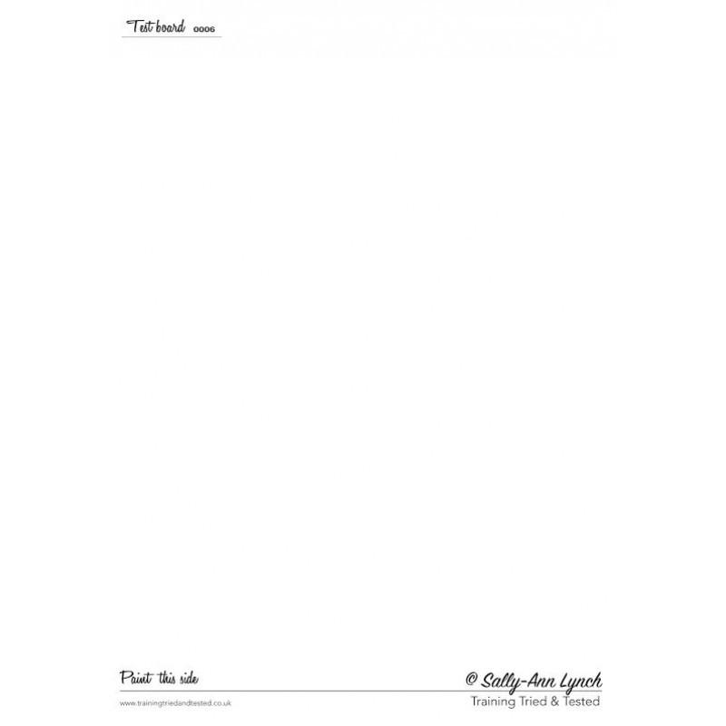Plastifiziert Uebungsblatt A4 - ohne Motiv