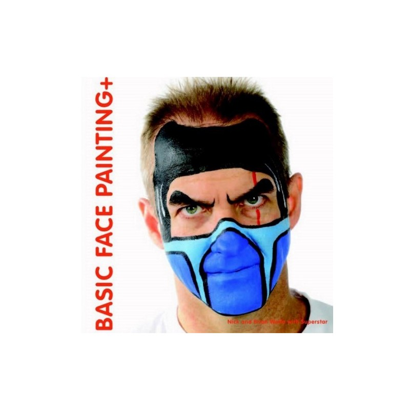 Buch Basic face painting + (Englisch)