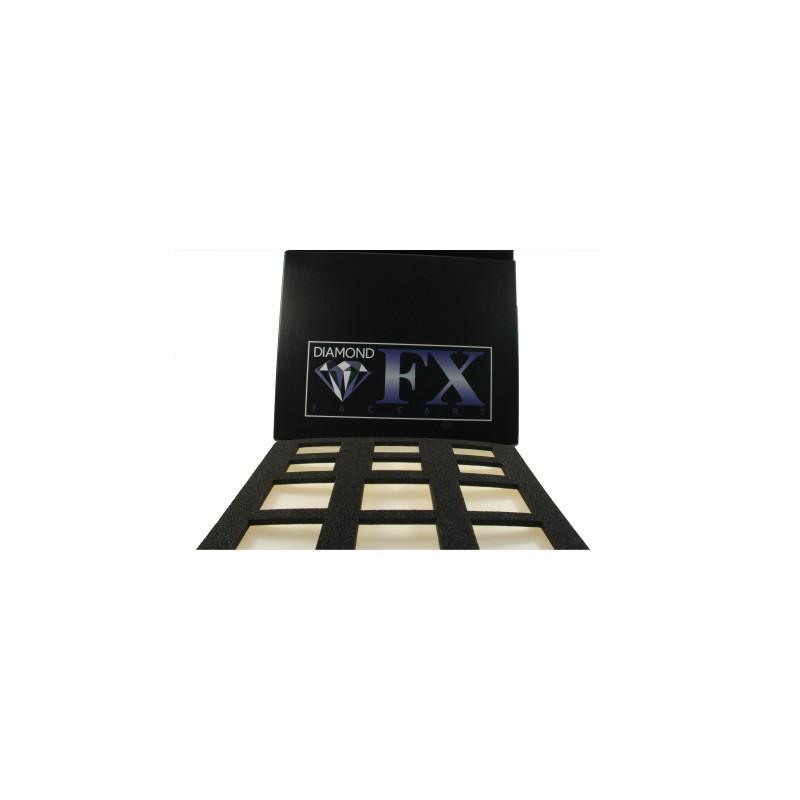 Diamond FX Palette vide pour split-cakes