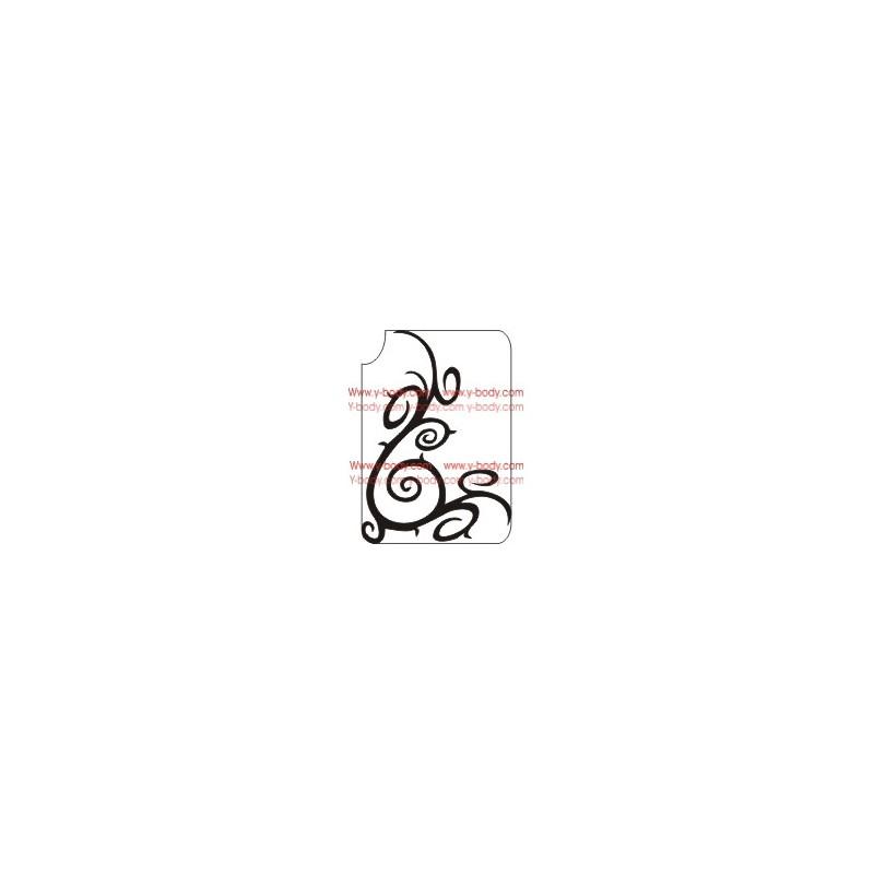 66500 Spiralen deko