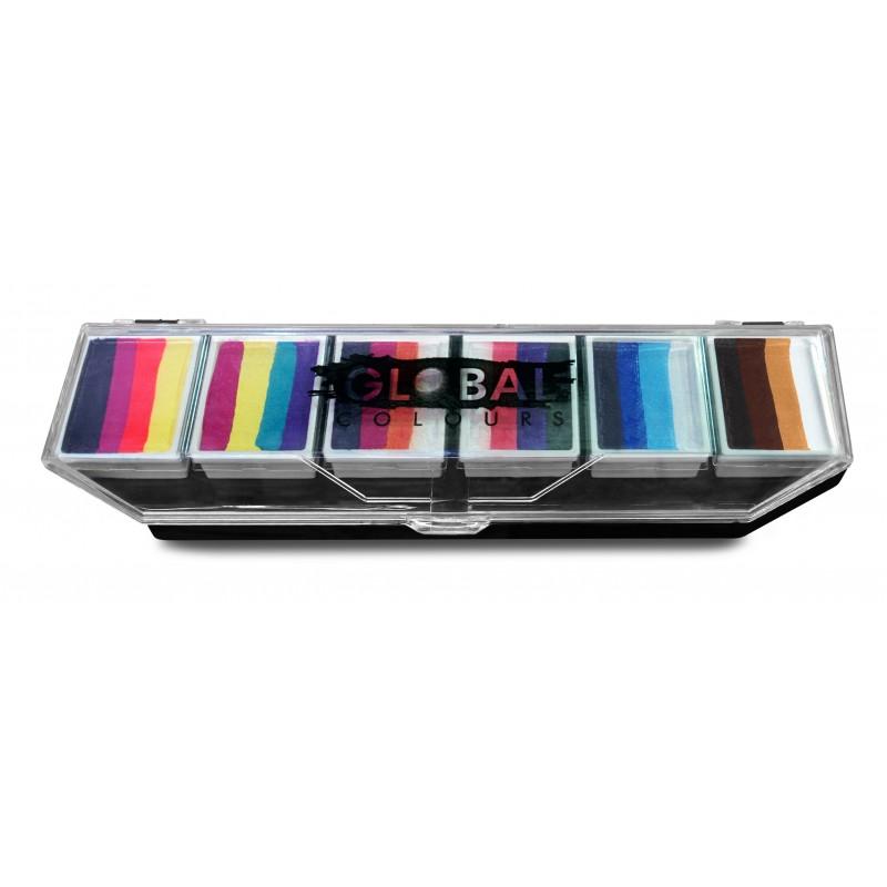 Global Palette Rainbow Splash