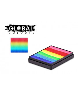 Global Bright Rainbow Cake 50g