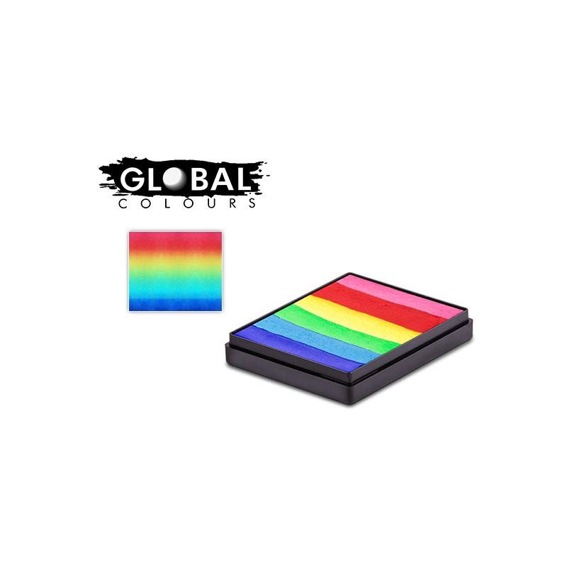 Global Bright Rainbow Cake 50g
