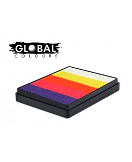 Global Caribbean Rainbow Cake 50g
