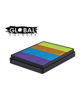 Global French Quarter Rainbow Cake 50g