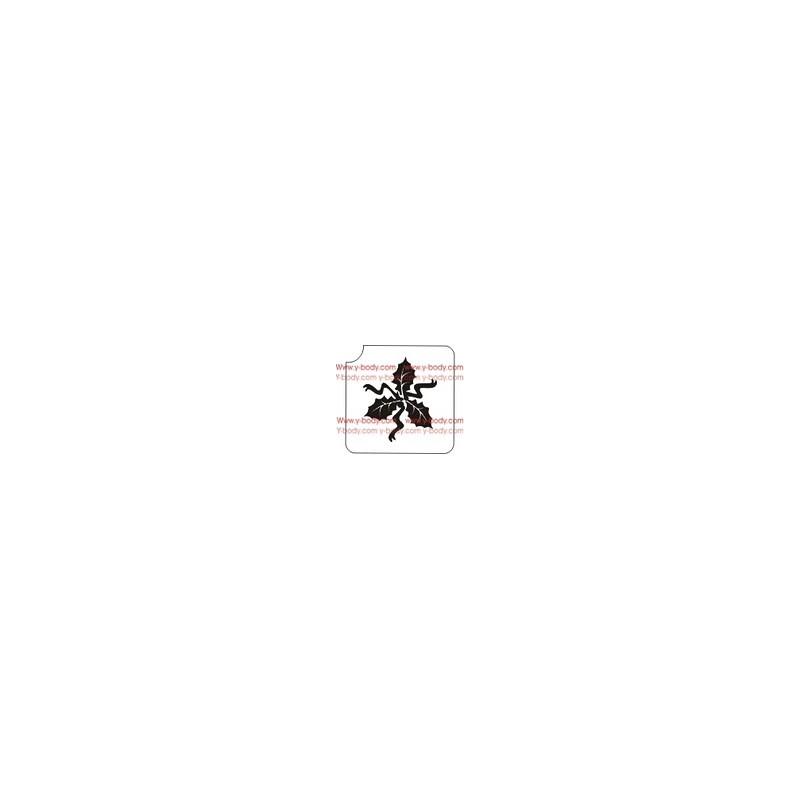 80200 3 Feuilles de houx