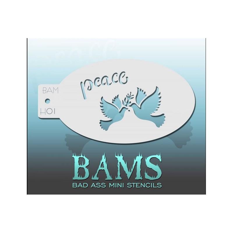 Bad Ass H01 - Friedenstauben