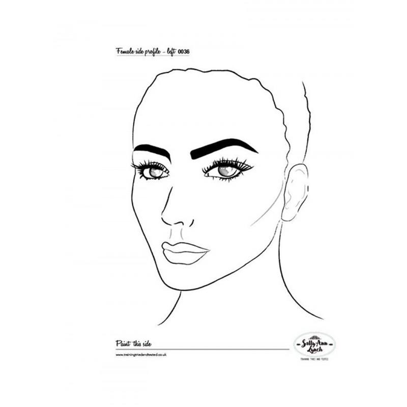 Plastifiziert Uebungsblatt A4 - Eye design