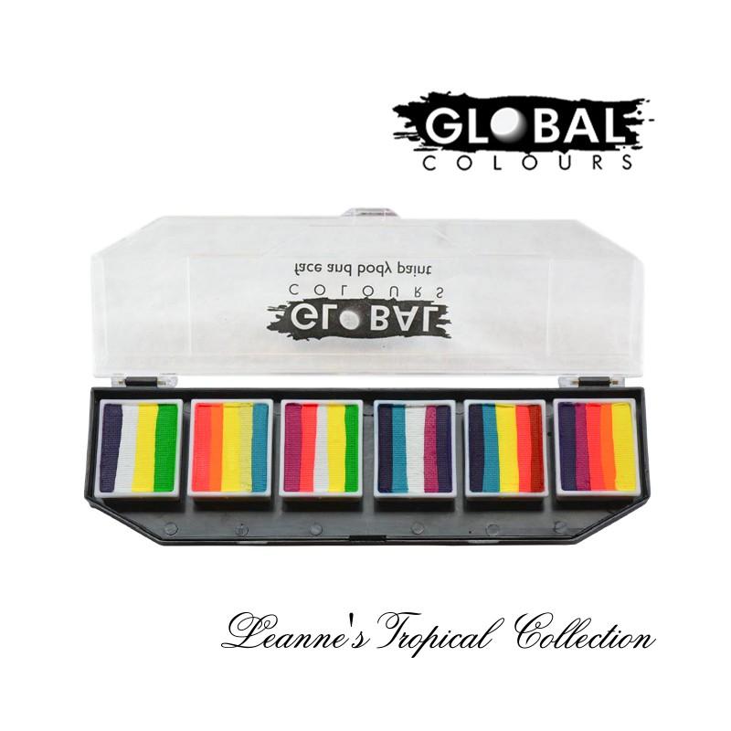 Global Fun Stroke Palette Leanne\'s Tropical Coll.