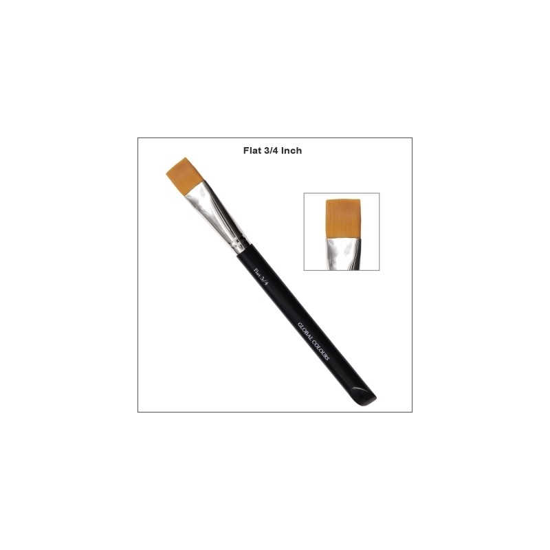 Pinsel flach 3/4 inch Global