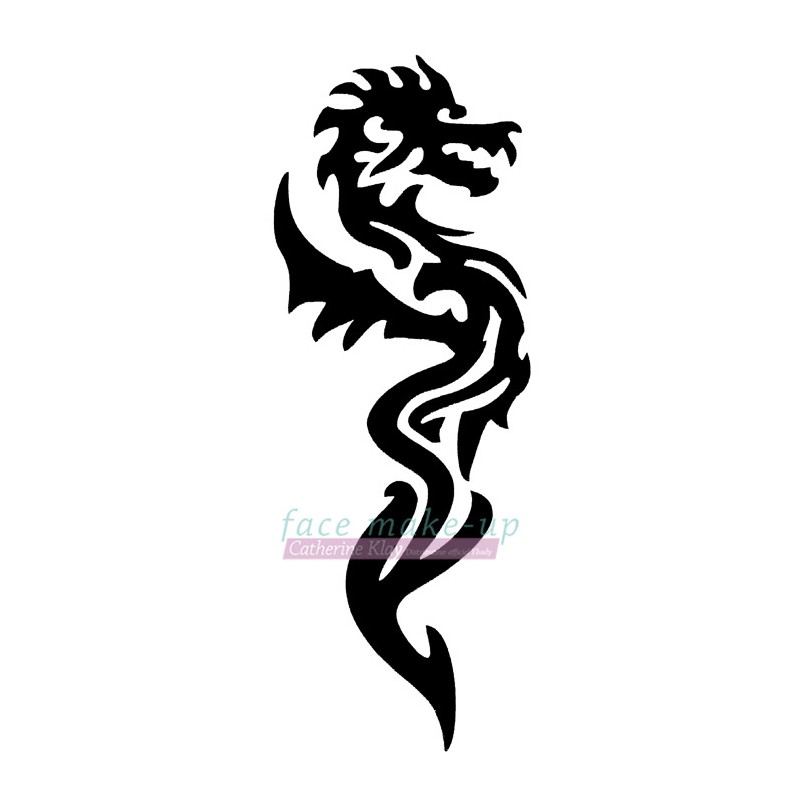 13600 Dragon de côté