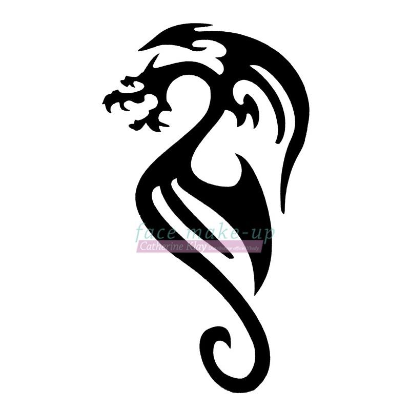 14100 Dragon tribal