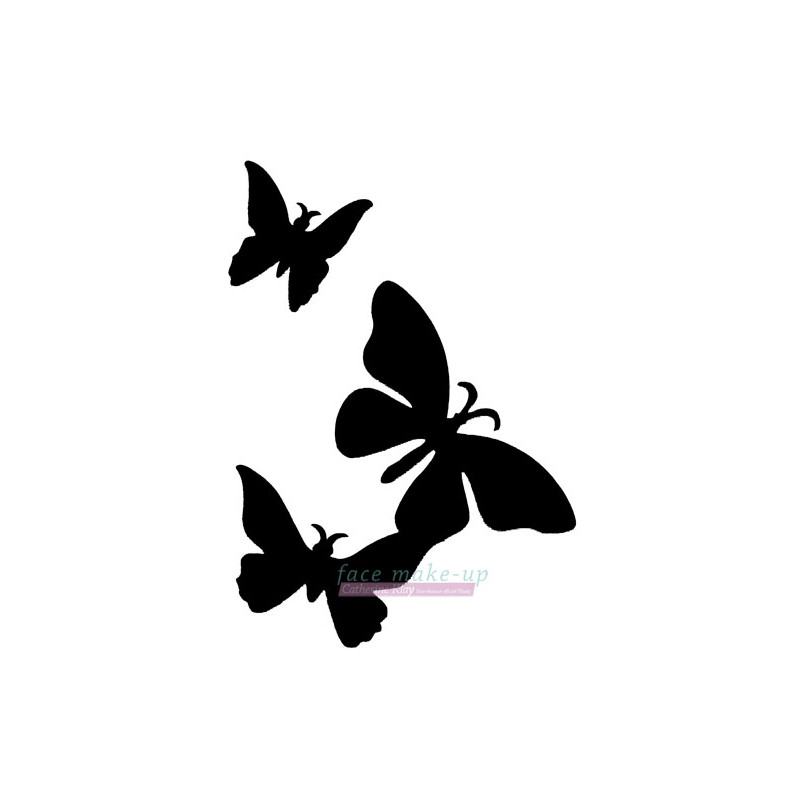 17300 3 Schmetterlinge
