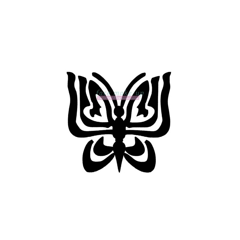 17700 papillon tribal facemakeup - Tribal papillon ...
