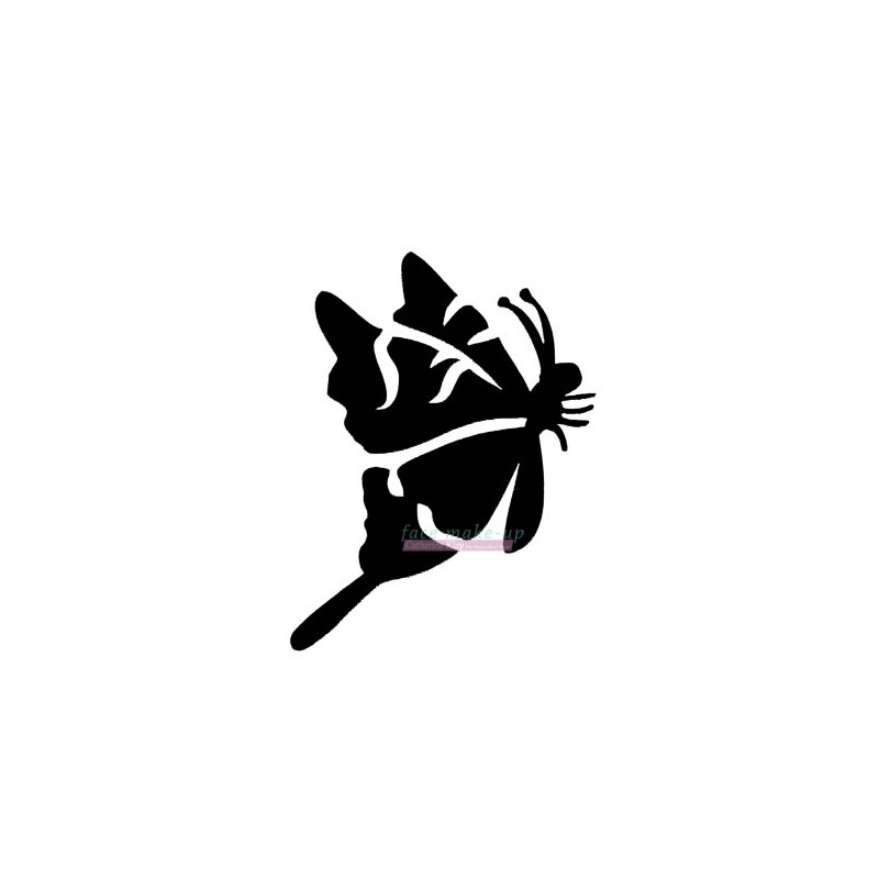 18100 Papillon de côté