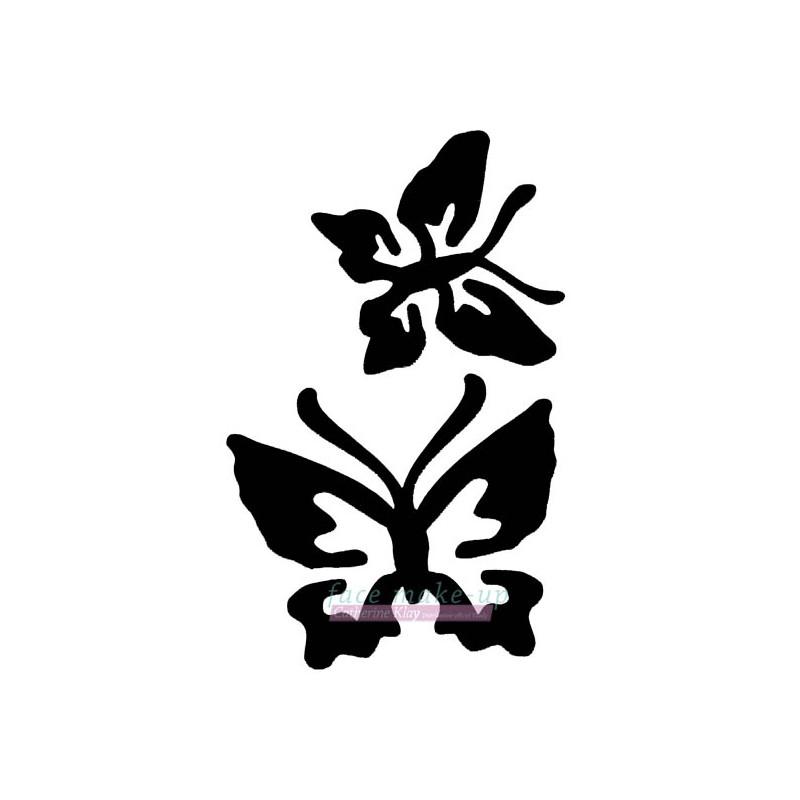 18400 2 Schmetterlinge