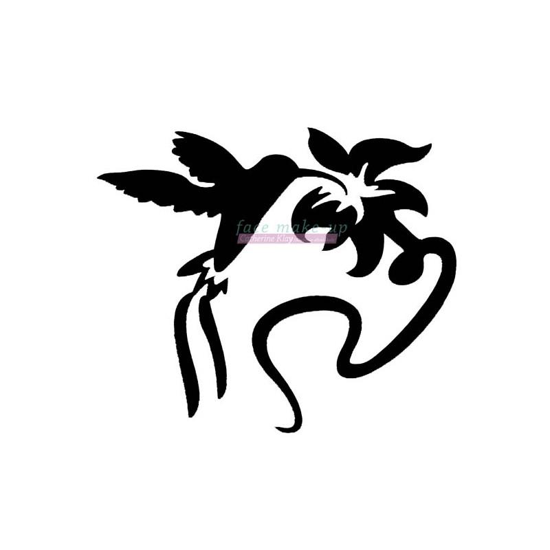 20600 Kolibri mit Blume