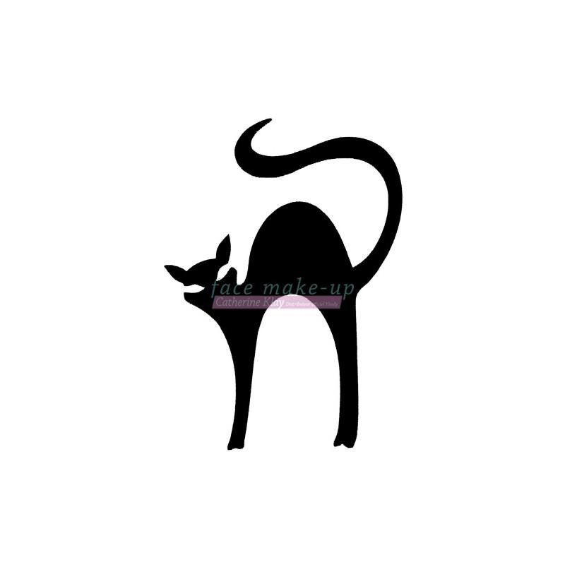 10800 Gebückte Katze