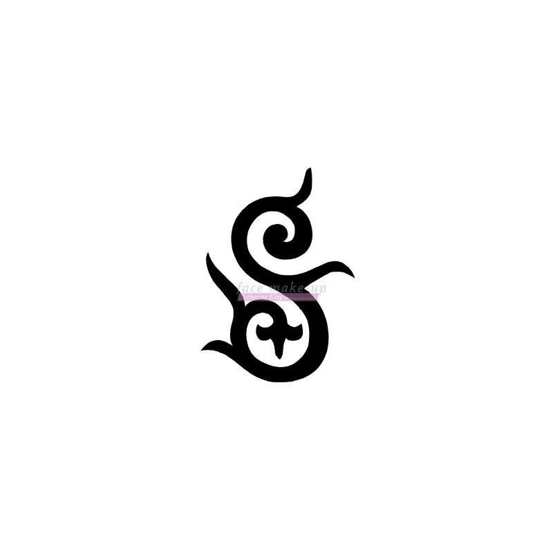 Pochoir pour tatouage temporaire - Décoratif