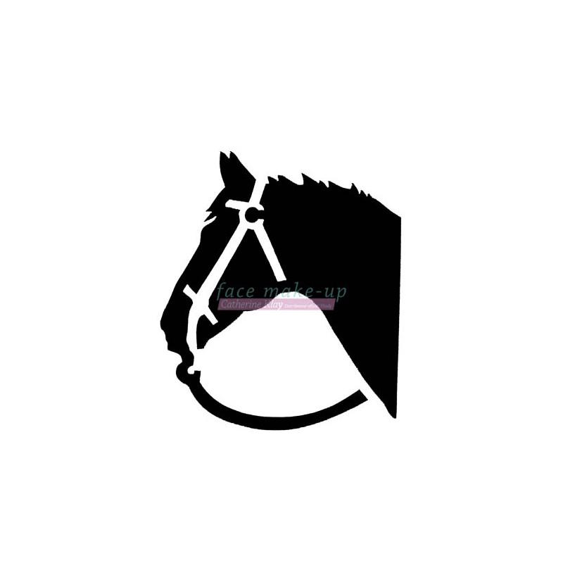 21702 Pferd Kopf