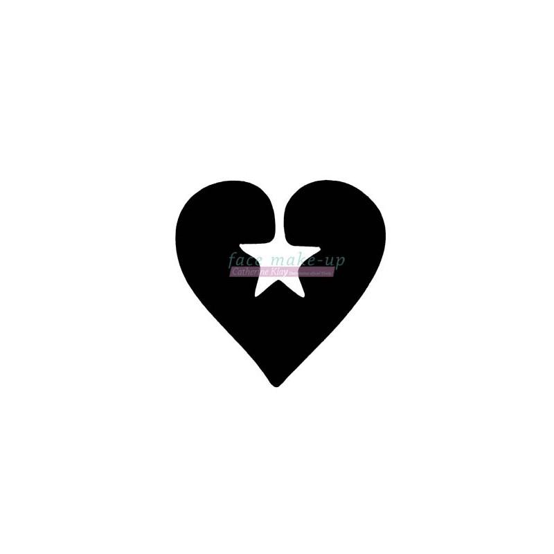 35100 Herz mit Stern