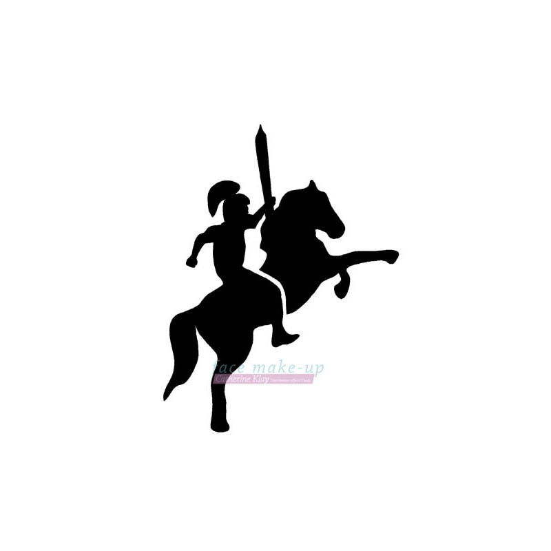 45201 Chevalier avec épée