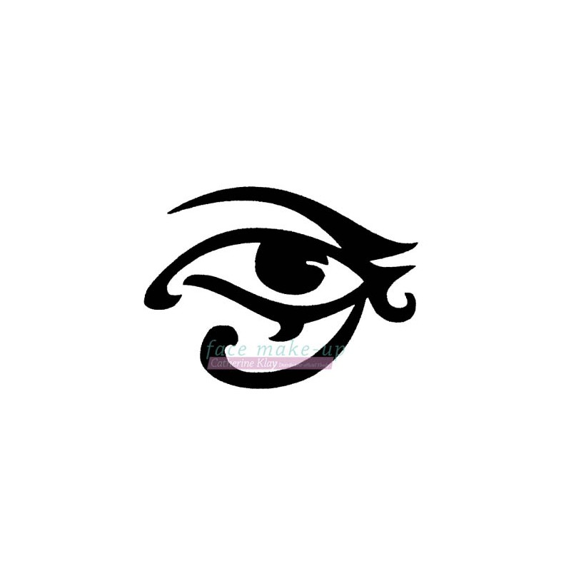 51500 Auge durchdringend