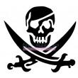 75000 Piratenskelett