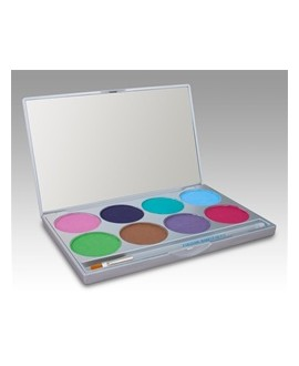 Paradise Palette 8-Farben pastell