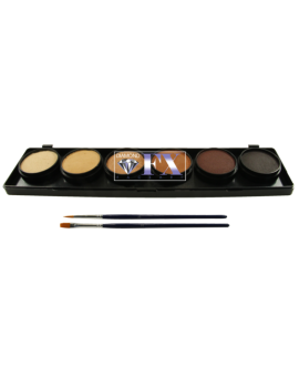 Diamond FX Palette 6 couleurs Skintones