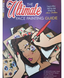 The Ultimate - Face painting Guide - Flower vol 2