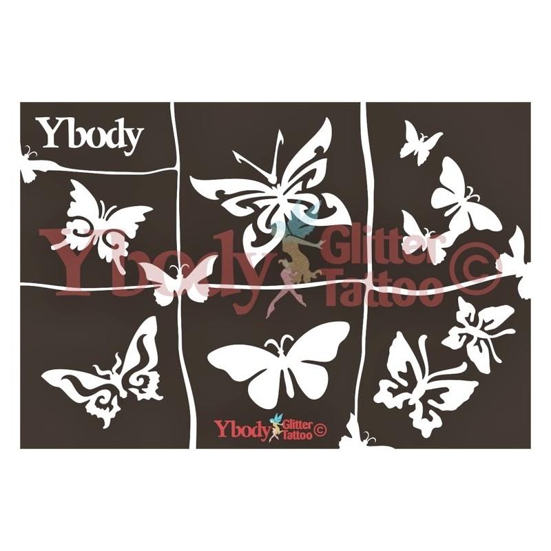 A5 Schmetterlinge
