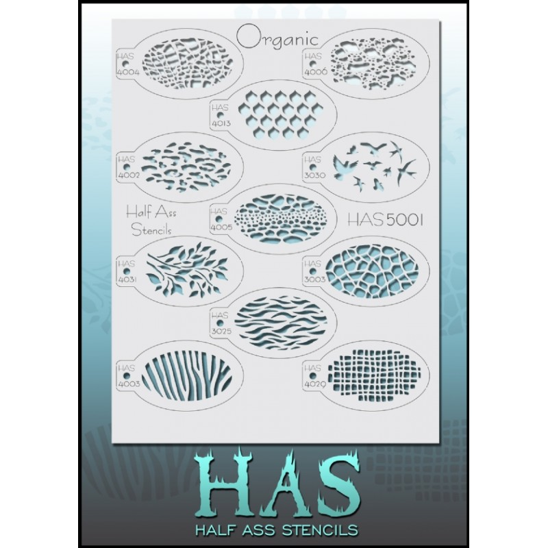 Half Ass 5001 Organic