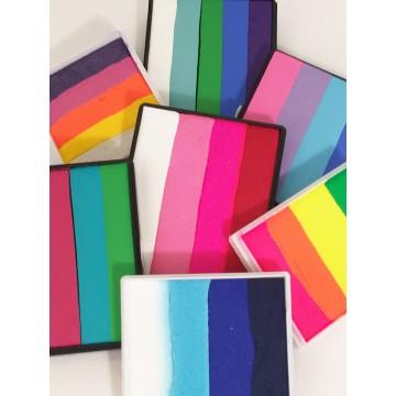 Grandes couleurs multicolores