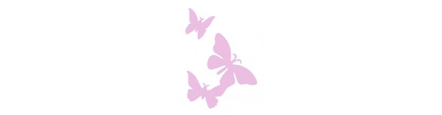 Schmetterlinge - Vögel