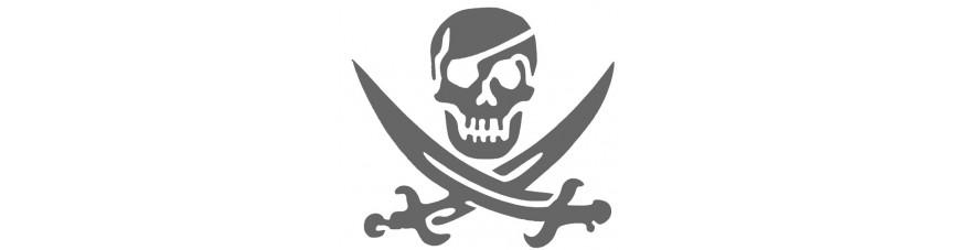 Squelettes - Pirates