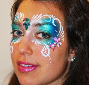 Maquillage fantaisie grimage pour adulte fille