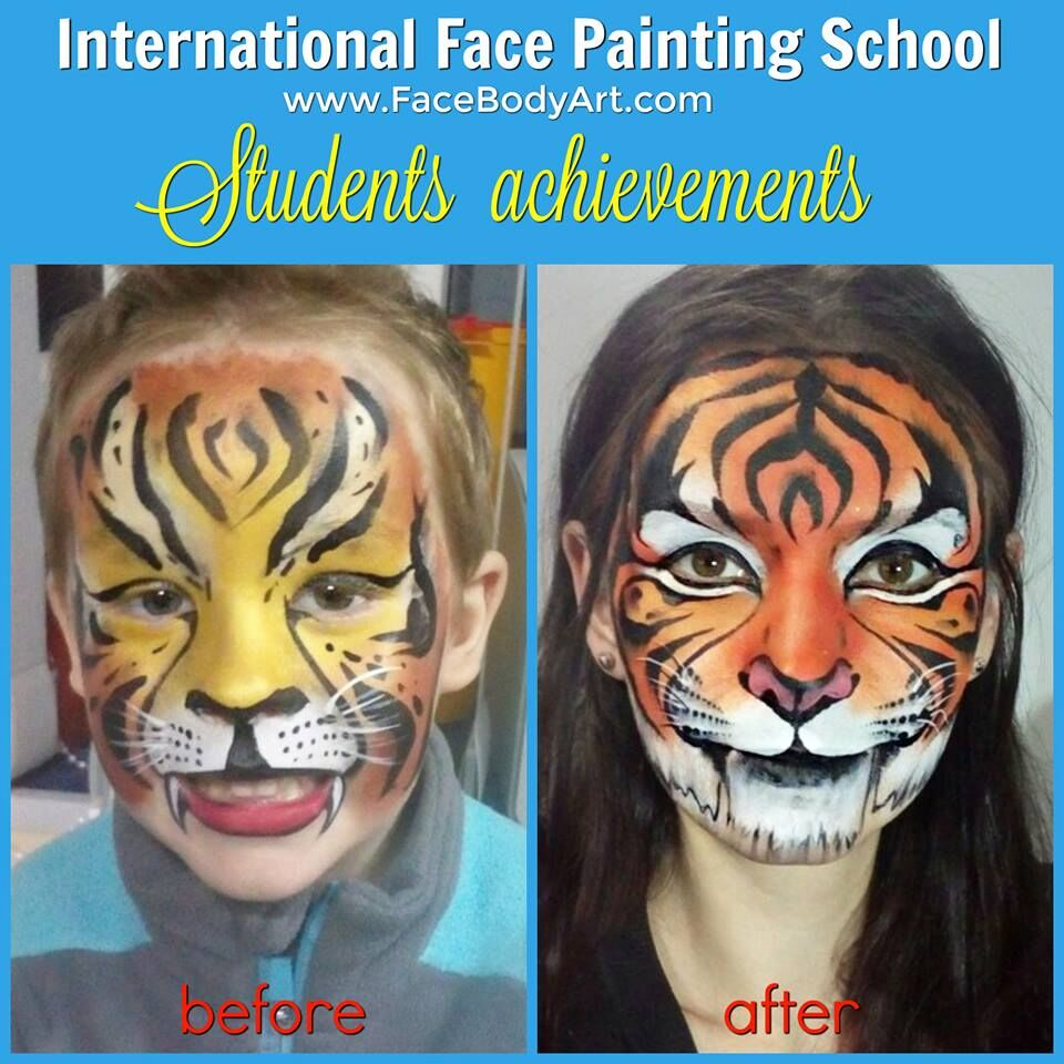 International Face Painting school Students' Achievements